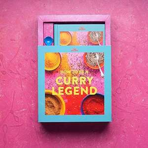 The Spicery Curry Legend Cookbook Kit with 4 spice blends, spoon and 80 recipes £22.40 delivered @ OnBuy