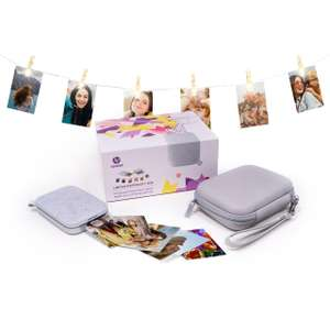 HP Sprocket Ltd Edition Gift Box Photo Printer - Incl. ink, photo paper, a case & string with clips £79.00 delivered w/code at AO