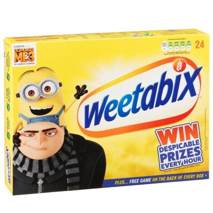 Weetabix 24pk 49p B&M