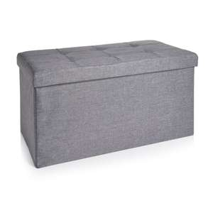 Large linen ottoman in grey or cream £17 / small cube ones £11 free click and collect @ Wilko