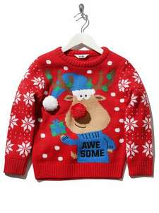 M&Co at least 50% off Christmas Jumpers/Clothes (Adult & Kids) in-store an online (+£1 express delivery)