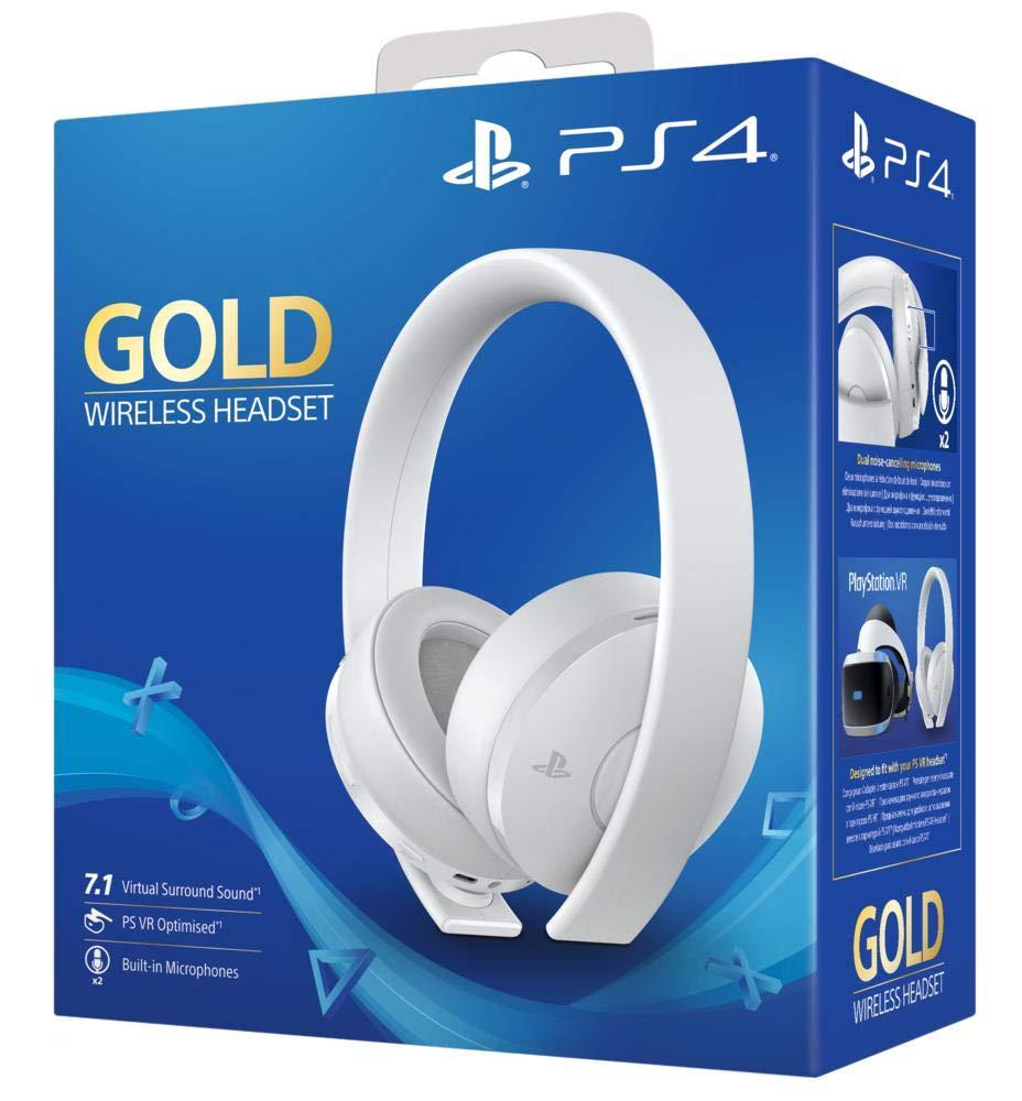 PS4 Gold Headset, White - £49.99 @ Amazon