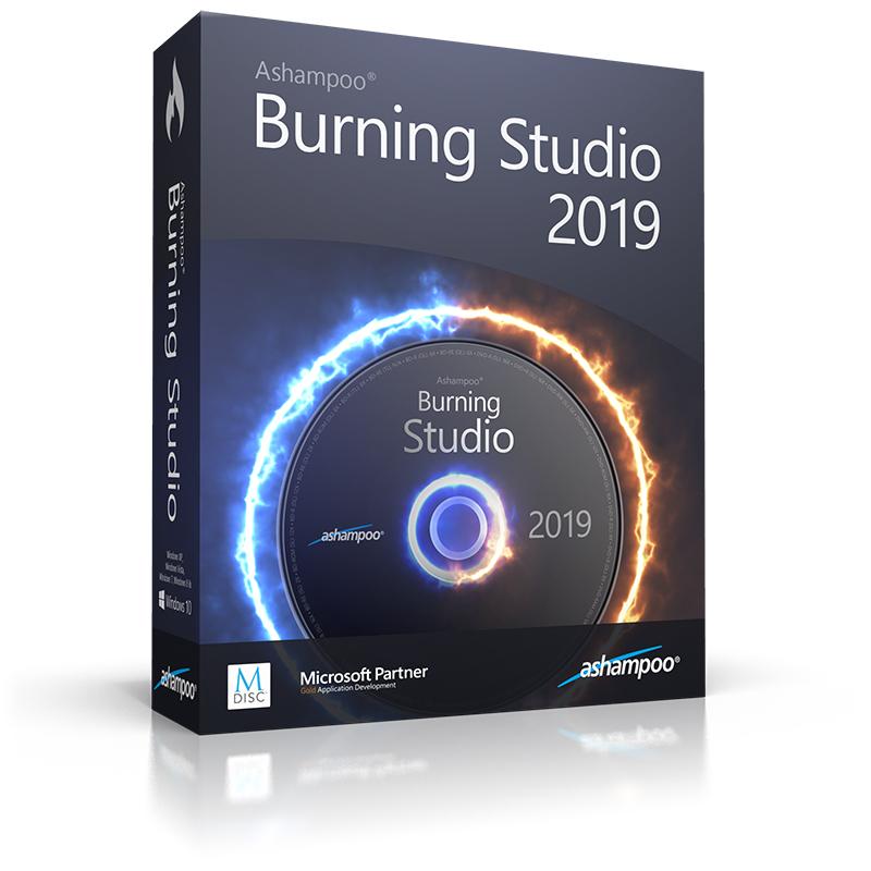 Ashampoo Burning Studio 2019 For Free @ ShareWareOnSale