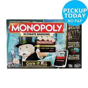 Monopoly Ultimate Banking at Ebay/Argos for £8.99 (C&C only - free)