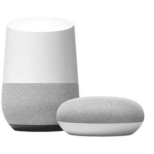 Google Home + Google Home Mini bundle for £115 Delivered @ BT Shop