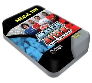 Match Attax Mega Tin now reduced to £8.99 at Argos (free C&C)