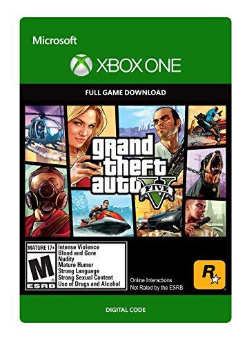 Grand Theft Auto V - Xbox One [Digital Code] @ Amazon US