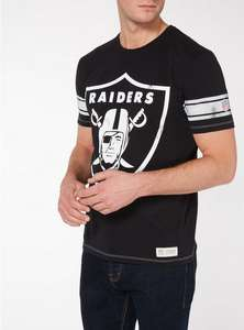 NFL T-shirt SALE - From £5 - Including Raiders T-Shirt for £10 (free C&C) at Argos / Sainsbury's