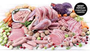 Last minute Xmas turkey (etc) hamper £47.93 delivered from Musclefood - only a few hours left!