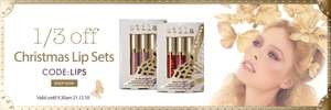 Stila Christmas lip sets makeup giftset 40% off free delivery (from £13.20) at Stila