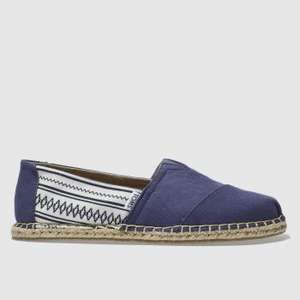 Toms from £14.99 (Men's, Women's & Kids) or £13.49 with UNiDAYS + Free Next Day Delivery @ Schuh