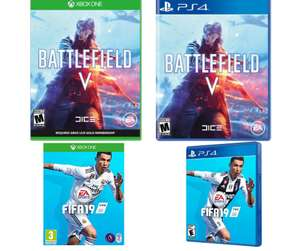 Battlefield V + Enlister DLC - Xbox One & PS4 £29.86 / FIFA 19 PS4 & Xbox One £28.85 @ Shopto (links in OP)