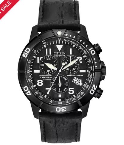 Citizen Men's Titanium Ion Plated Strap Watch, £207 at E Jones