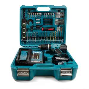 Makita DHP453SFTK 18V LXT Combi Drill with 1x 3.0Ah Battery and Accessories in Case £118.91 @ Lawson