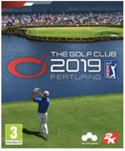 The golf club 2019 Xbox and PS4 £16.98 @ 2K Games