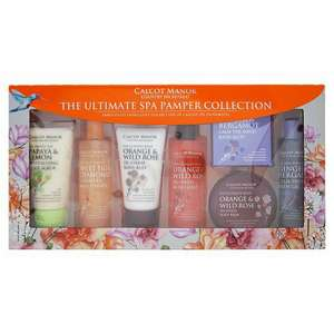 Calcot Manor Ultimate Spa Pamper Collection £5 at Tesco in store and online.