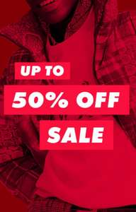Sale Up to 50% off @ ASOS