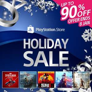 Holiday Sale at PSN Store Indonesia - Uncharted Collection £3.04 Knack £1.64 The Last Guardian £8.09 Injustice Gods Among Us UE £5.04 + MORE