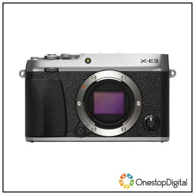 Fujifilm X-E3 Camera Body (Silver)  £448.54 @ one stop digital