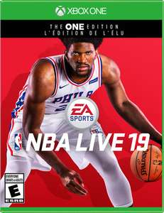 NBA LIVE 19 Xbox One £8.23 at Xbox Store US