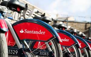 Free - 24 Hours Unlimited Santander Cycle Hire