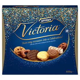 Mcvities Victoria Biscuits 600g £2 Asda