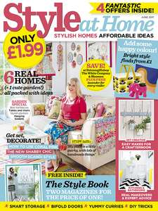 12 month subscription to Style at home magazine for potentially £5.74 Magazines Direct