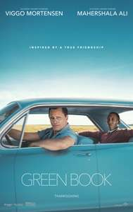 Free tickets to see Green Book at various cinemas on Tuesday 22nd January 2019