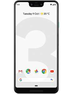 Google Pixel 3 XL 64GB £591 @ CPW, £579 up front + £12 1 Month contract from Virgin (Unlocked Device)