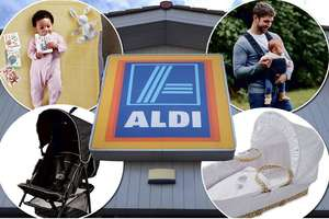 Aldi baby event begins 06/01/19 online and 10/01/19 in store. Prices from 59p @ Aldi
