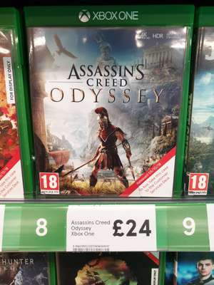 Assassins Creed Odyssey PS4/Xbox One at Tesco instore for £24