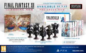 Final Fantasy XII PS4 Playstation 4 Collectors Edition - £64.74 + £5.29 shipping from Square Enix UK Store