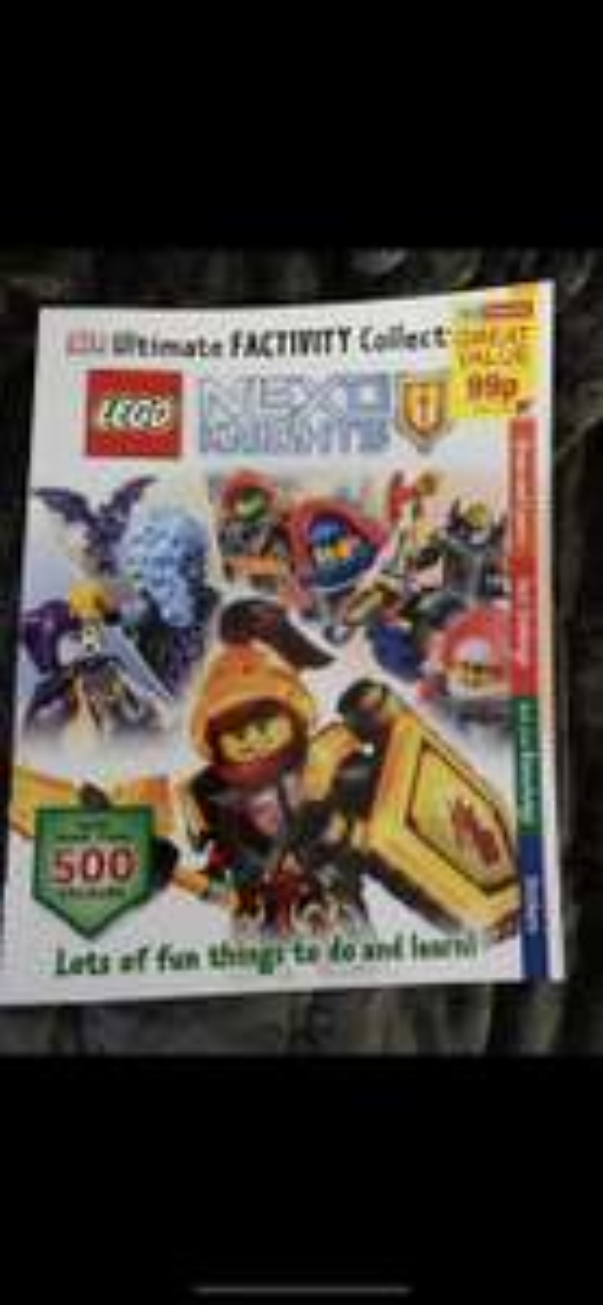 Dk lego nexo knights  book 99p - Home Bargains