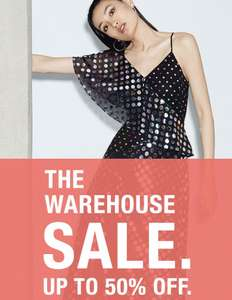 Warehouse - NOW up to 70% off Sale NOW ON - Prices from £5