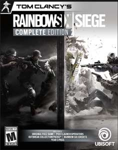 Tom Clancy's Rainbow Six Siege - Complete Edition [Online Game Code] £21 approx @ Amazon US