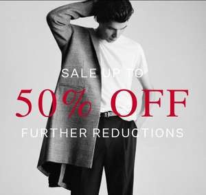 Up to 50% Off Sale Further Reductions @ All Saints