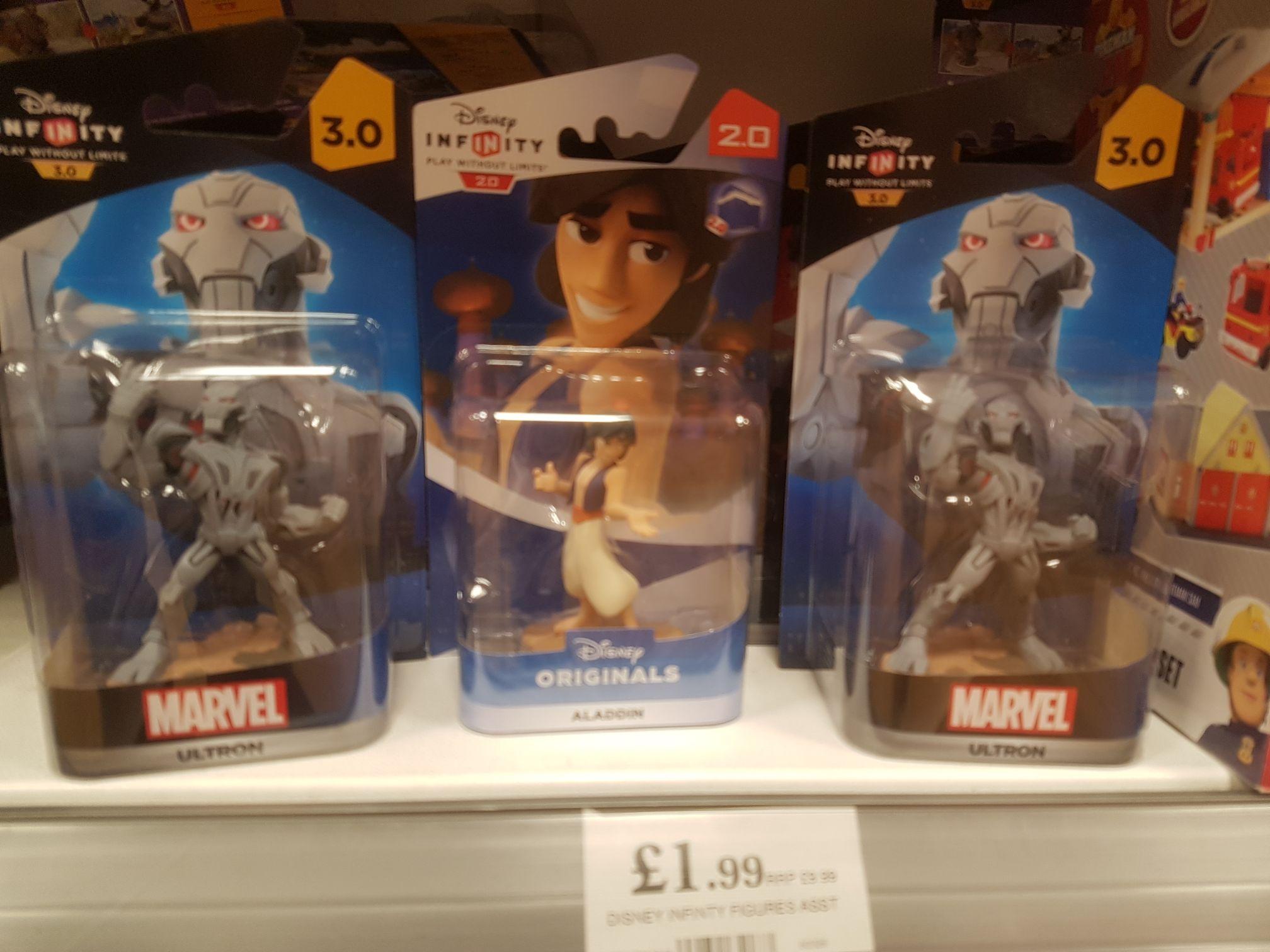 Disney Infinity figures - £1.99 instore @ Home Bargains, Wolverhampton