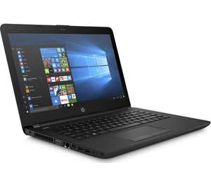 """HP 14-bw023na 14"""" AMD A6 Laptop - 1 TB HDD, Black Product code: 254672 - £289 @ Currys"""