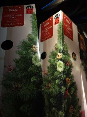 Christmas Tree 3ft Cone and Berry at Asda instore £2
