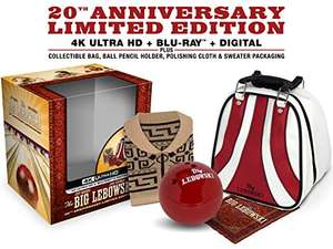 The Big Lebowski 20th Anniversary Limited Edition 4K Ultra HD + Blu-ray + Digital £35.69 delivered from Amazon US (Region Free)