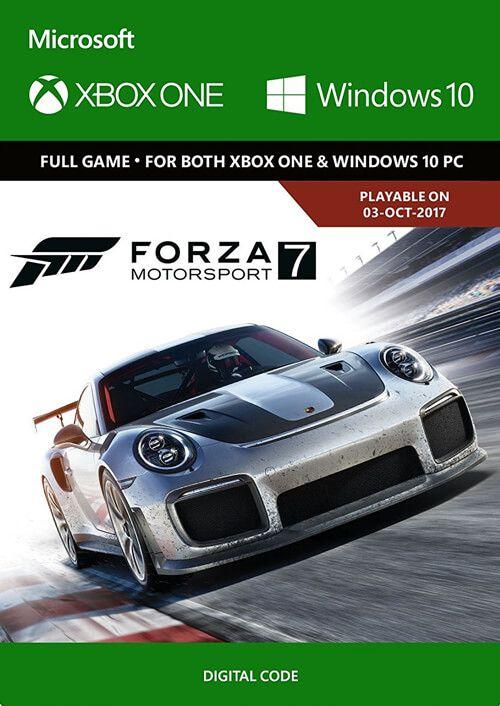 Forza Motorsport 7: Standard Edition Xbox One/PC - £14.99 (£14.54 w/ FB code) @ CDKeys