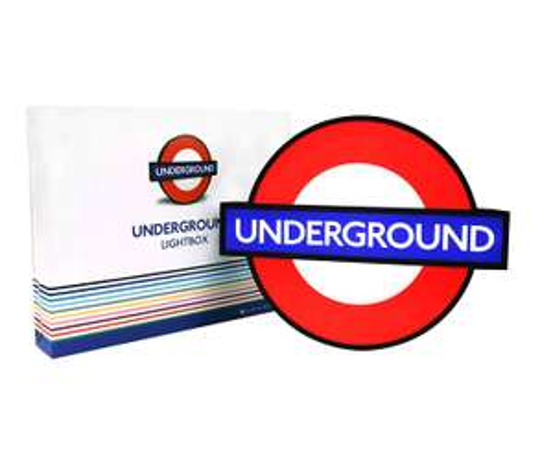 London Underground Lightbox £24.98 Delivered @ Amazon (Ryman Store)