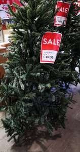 Upswept 6ft Artifical Christmas Tree - Was £99 now £49.50 instore at Dobbies