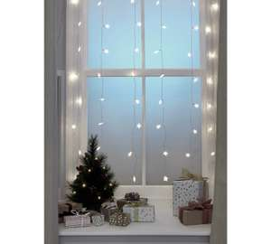 Argos Home Set of 60 Star Curtain Lights - White for £5.00 @ Argos.co.uk