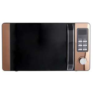 Wilko Copper Effect microwave 20L - £40  (free click and collect)