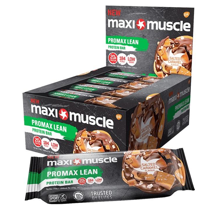 Maximuscle Promax Lean Bars  49p each or £5.88 per box in Home Bargains