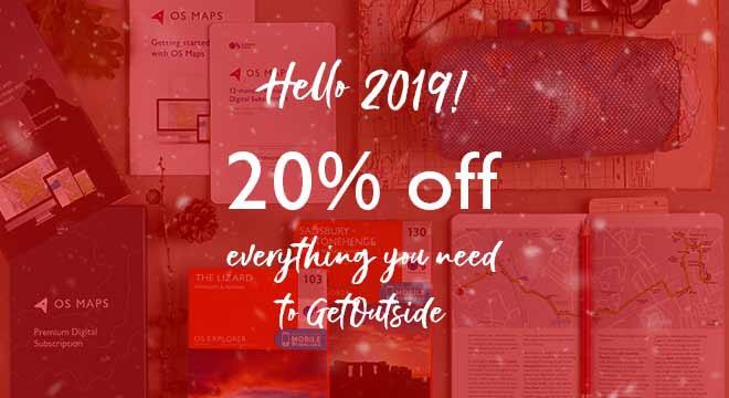 Ordnance Survey Sale 20% Off everything*