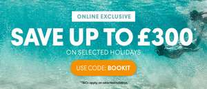 Thomas Cook £75 off over £800 spend