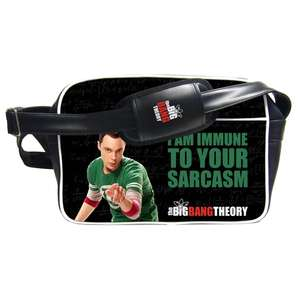 The Big Bang Theory: Sheldon I Am Immune Messenger Bag £5.99 Delivered from Forbidden Planet