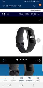 25% Off Fitbit Charge 3 £97.50 @ o2